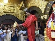 परिवार संग शिरडी पहुंचीं शिल्पा शेट्टी, साई बाबा को चढ़ाया सोने का मुकुट, कीमत हैरान करने वाली, देखें Video