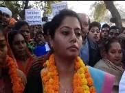 अनुप्रिया पटेल की भाजपा से नाराजगी पर बोली उनकी बहन, पति को मंत्री बनाने के लिए है स्टंट