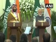 भारत-सऊदी अरब ज्वॉइंट प्रेस कांफ्रेंस: पीएम मोदी ने बिन सलमान के साथ पुलवामा का किया जिक्र