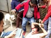 फर्जी CBI टीम ने व्यापारी को लूटा, लोगों ने जंजीरों से बांधकर पीटा, देखें वीडियो