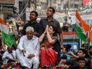 प्रियंका गांधी का रोड शो: कांग्रेसी और भाजपाइयों दोनों के खिलाफ केस