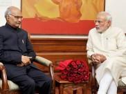राष्ट्रपति रामनाथ कोविंद से आज शाम पीएम मोदी करेंगे मुलाकात, सरकार बनाने का पेश करेंगे दावा