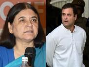 अमेठी में मिली हार पर चाची मेनका का यह तंज राहुल गांधी को हमेशा चुभेगा, जानिए क्या कहा