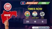 Times Now exit poll results 2019: महाराष्ट्र में बीजेपी-शिवसेना को भारी बहुमत, लगातार दूसरी बार बनेगी सरकार