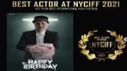 New York City Film Festival: अनुपम खेर ने 'Happy Birthday' के लिए जीता बेस्ट एक्टर का अवॉर्ड