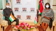 तीन दिन के दौरे पर केन्या पहुंचे विदेश मंत्री एस जयशंकर, रेशेल ओमामो से की मुलाकात