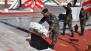 गलवान घाटी संघर्ष की पहली बरसी, लेह में सेना ने दी शहीदों को श्रद्धांजलि