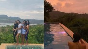 सारा अली खान ने पूल में दोस्तों संग मस्ती की तस्वीरें की शेयर, हुईं वायरल