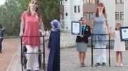 दुनिया की सबसे लंबी लड़की जिसने दो बार तोड़ा वर्ल्ड रिकॉर्ड, एक बीमारी के चलते बढ़ी लंबाई
