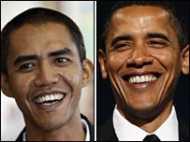ओबामा के हमशक्ल की बढ़ती लोकप्रियता