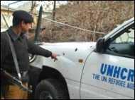 अपह्रत यूएन अधिकारी की वीडियो अपील