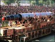 भारत में अवरोधक मिसाइल का परीक्षण