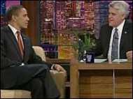 टीवी चैट शो में आए ओबामा