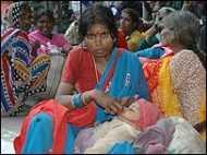 जातीय समीकरणों पर विकास की चोट