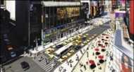 न्यूयॉर्क टाइम्स स्क्वायर अब 'बे-कार'