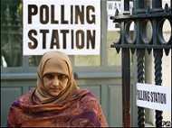 कई ब्रिटिश वोटर निराश लौटे