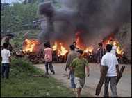मणिपुर: नाकेबंदी नहीं ख़त्म हुई
