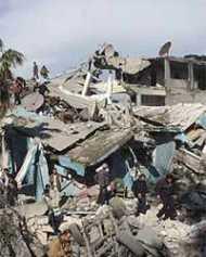 इजराइली हमले से गाजा में तबाही
