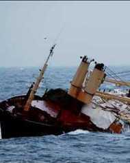यमन तट पर जहाज डूबा, 130 यात्री सुरक्षित