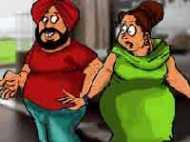 संता का बीवी से तलाक