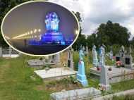 कब्रिस्तान पर बसी है लखनऊ की पॉश कालोनी