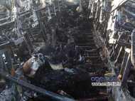 Disturbing PICS: आंध्रा बस में लगी आग, 45 मरे