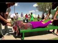 3 मिनट के वीडियो में देखें किस तरह हुए शरीर के दो टुकड़े