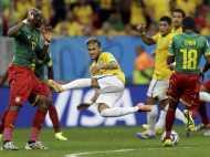 कैमरून पर 4-1 से जीत, जमकर हुआ ब्राजीलियन डांस, देखें पिक्स