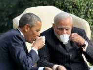 ओबामा ने लंच में चखा 'गुजराती कढ़ी' और 'भुना गोश्त बोटी'