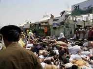 PICS: मक्का में भगदड़ के बाद चारों तरफ बिछी पड़ी हैं लाशें