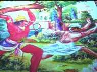 शंकराचार्य के पोस्टर में रामभक्त हनुमान ने साईं बाबा को दौड़ाया