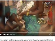 अजब-गजब: 7 साल के लड़के की हुई कुत्ते से शादी, देखें वीडियो