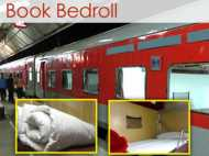 घर ले जा सकेंगे ट्रेन में मिलने वाला चादर, तकिया, कंबल!