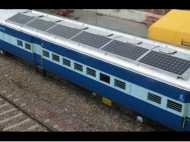 नई पहल: सोलर एनर्जी से चलेंगे ट्रेनों के पंखे और बल्व