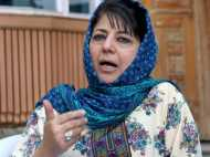 कश्मीर के हालात पर हो पड़ीं सीएम महबूबा मुफ्ती