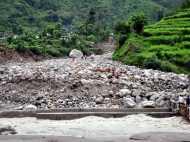 उत्तराखंड: भारी बारिश और लैंडस्लाइड के बाद गंगोत्री हाईवे बंद