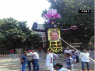 लुधियाना की रामलीला में नवाज शरीफ 'रावण' तो हाफिज सईद 'मेघनाद'