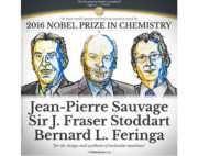 वर्ष 2016 के लिए रसायन विज्ञान के नोबेल पुरस्कार का ऐलान