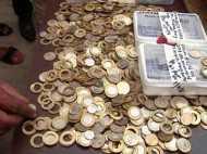 10 रुपए के नकली सिक्के की फैक्ट्री, आरबीआई के मैटेरियल का इस्तेमाल
