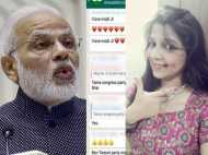 नोटबंदी पर महिला कांग्रेस नेता ने कहा, I Love Modi Ji