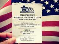 जानिए अमेरिकी चुनाव की मतदान रसीद में हिंदी का सच