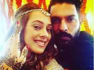 युवराज की शादी: सजना शुरू कर चुकी हैं दुल्हन, युवी ने खुद शेयर की तस्वीरें