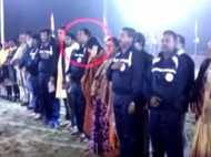 टीएमसी विधायक ने किया राष्ट्रगान का अपमान, वीडियो आया सामने