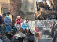 कोलकाता: सिलेंडर ब्लास्ट के बाद लगी भीषण आग से 2 की मौत, 12 से ज्यादा झुग्गियां राख