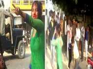 यूपी में दबंगों का कहर: बीच सड़क पर महिला से छेड़खानी,रोका तो फोड़ दिया सिर