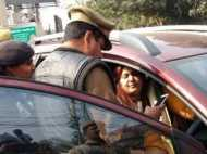 विधायक की पत्नी का लखनऊ में हंगामा, पुलिसवाले को दी गालियां