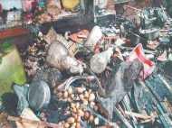 यूपी के बस्ती में बच्ची के नामकरण के मौके पर आयोजन के मौके पर फटा सिलेंडर, 2 की मौत
