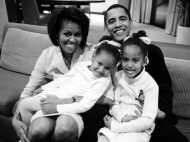 राष्ट्रपति ओबामा के लिए पत्नी मिशेल का रोमांटिक और इमोशनल मैसेज
