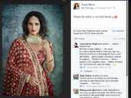 सानिया मिर्जा ने शेयर की लहंगा-चोली वाली फोटो, सोशल मीडिया पर पड़ी 'गालियां'