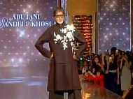 वीडियो: जब रैंप पर उतरे अमिताभ बच्चन, देखिए उनका अंदाज